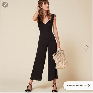Reformation Miri Jumpsuit Perfect Condition Size 2